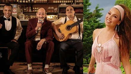 Thalía comparte video de 'Los Juanelos' entre los miles de #ThalíaChallenge