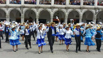 Video | Arequipa consiguió el Récord Guinnes de la danza folklórica peruana más grande