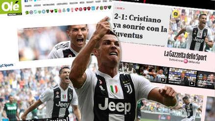 Así reaccionó la prensa mundial tras el debut goleador de Cristiano Ronaldo