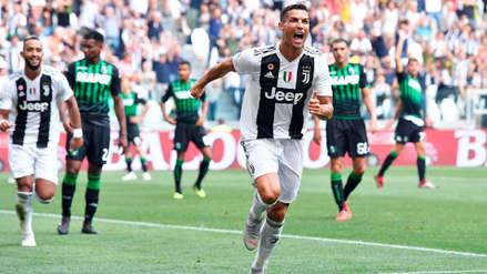 Los primeros goles de Cristiano Ronaldo con Juventus desde todos los ángulos