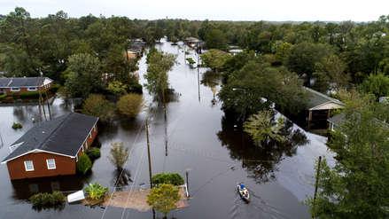 Inundaciones y fuertes lluvias provocadas por Florence dejan al menos 15 muertos
