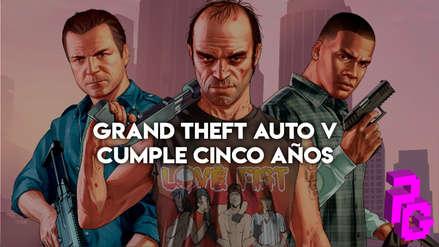 Video: Grand Theft Auto V cumple cinco años y te mostramos sus mejores acrobacias