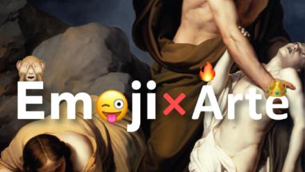 Emoji por Arte: acercado obras clásicas al mundo de las redes