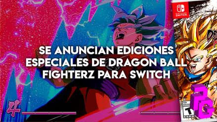 Se anuncian ediciones especiales de Dragon Ball FighterZ para Switch