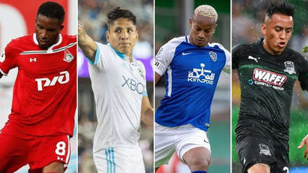Sigue la programación de los futbolistas peruanos que militan en el exterior