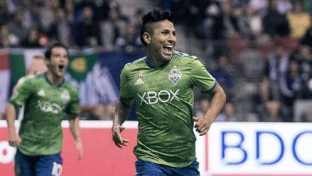 Raúl Ruidíaz: MLS lo incluyó en el equipo ideal de la fecha 29