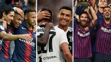 Champions League: los equipos más valiosos que estarán en el torneo