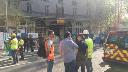 Derrumbe en hotel Ritz de España dejó un muerto y al menos once heridos