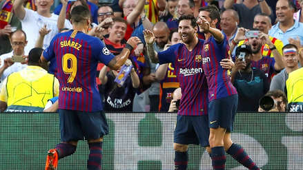 Con triplete de Lionel Messi, Barcelona goleó al PSV por la Champions League