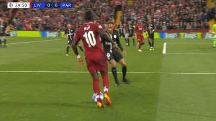 El amague de Mané que dejó desairado a Neymar en el Liverpool vs. PSG