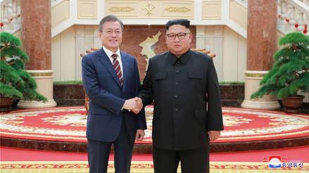 Kim Jong-un y Moon Jae-in acordaron