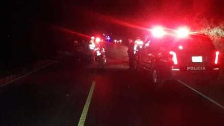 Madre e hijo murieron atropellados en carretera de Ferreñafe a Pítipo