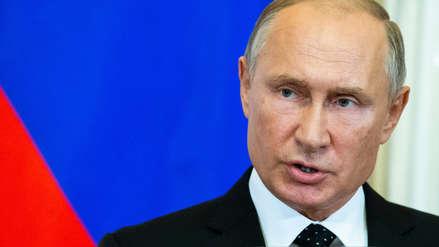Vladímir Putin: Avión ruso fue derribado en