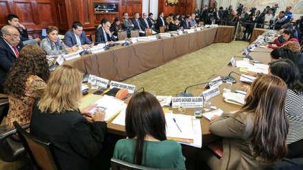 La Comisión de Constitución aprobó primeros artículos para la bicameralidad