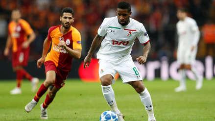 Con Jefferson Farfán como titular, Lokomotiv cayó ante Galatasaray en Turquía