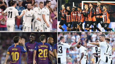 Real Madrid, Barcelona, Juventus y el Top Ten del ranking de clubes de la UEFA