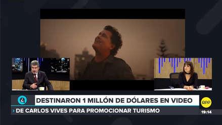 Ministro de Turismo sobre video de Carlos Vives en Lima: