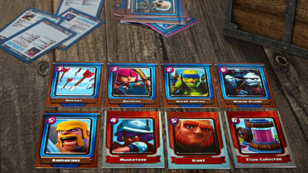 Supercell lanzó cartas coleccionables físicas de Clash Royale
