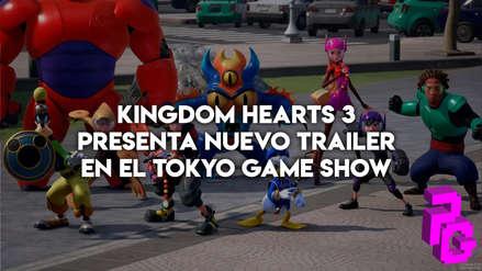 Kingdom Hearts 3 presenta nuevo trailer en el Tokyo Game Show