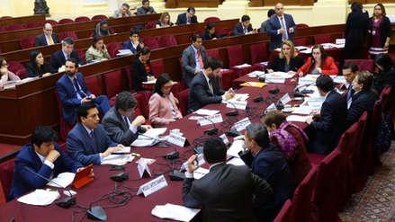 Comisión de Constitución retiró de reforma la obligación de congresistas de declarar intereses