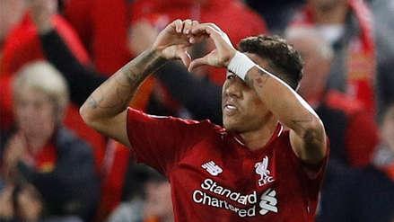 Roberto Firmino y su agónico gol que le dio la victoria a Liverpool sobre el PSG