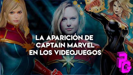 Esta es la aparición de Captain Marvel en la historia de los videojuegos