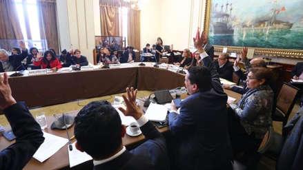 Comisión de Constitución suspendió debate del retorno a la bicameralidad