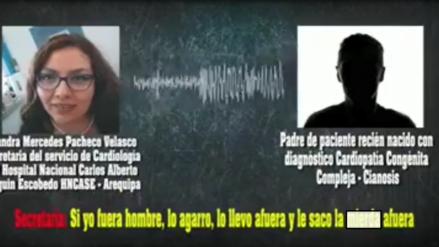 Video | Denuncian agresión de trabajadora de EsSalud en Arequipa