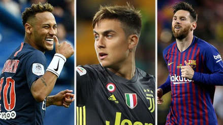 Champions League: los jugadores que usarán la 10 en el torneo internacional