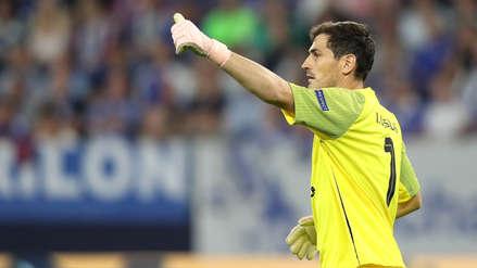 Iker Casillas alcanzó histórico récord de participaciones en Champions League