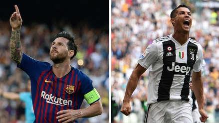 Lionel Messi batió un récord de Cristiano Ronaldo con su 'hat trick' en Champions League