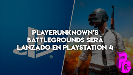 PlayerUnknown's Battlegrounds será lanzado en PlayStation 4