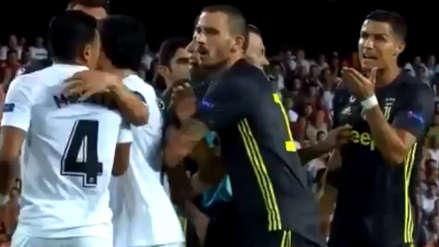 Cristiano Ronaldo y el preciso momento de su expulsión con Juventus en la Champions
