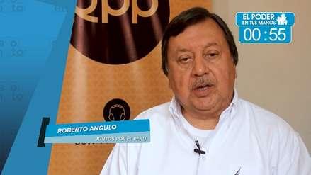 Elecciones 2018: Roberto Angulo propone acciones para el desarrollo de la región, prevención de desastres y lucha contra la corrupción