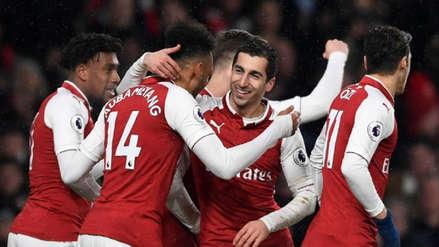Arsenal goleó 4-2 al Vorskla en su debut en la Europa League