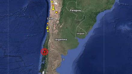 Un sismo de magnitud 4.3 sacudió tres regiones del sur de Chile