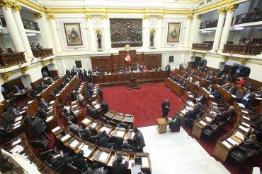 Las posiciones de las bancadas sobre la cuestión de confianza solicitada por el Ejecutivo