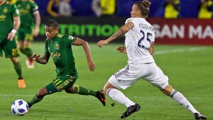 Andy Polo anotó su primer gol con el Portland Timbers en la MLS