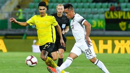 Con Christian Cueva en cancha, Krasnodar venció al Akhisar por la Europa League