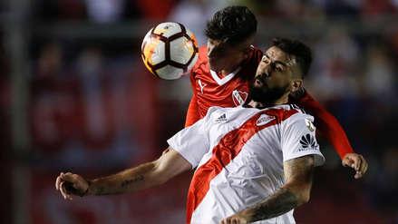 River Plate empató con Independiente en la ida de los cuartos de la Copa Libertadores