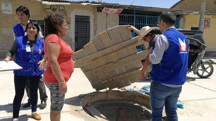 Defensoría pide sancionar a empresas que vierten aguas residuales al desagüe de Olmos