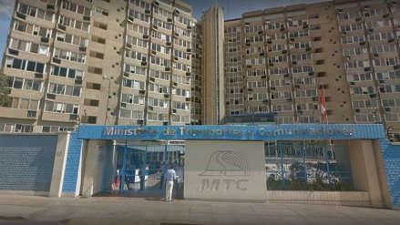 Evacuan la sede principal del Ministerio de Transportes y Comunicaciones por un paquete sospechoso