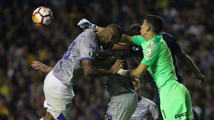 Cruzeiro repudió la polémica expulsión de Dedé ante Boca Juniors