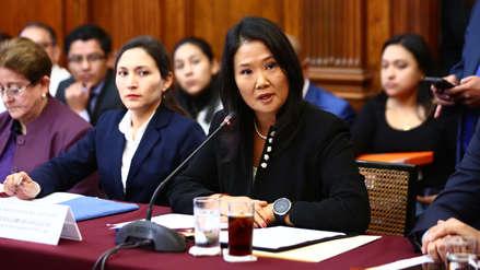 Keiko Fujimori consideró que su baja aprobación se debe a