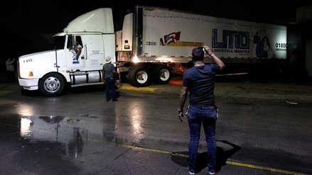 Construirán cámara frigorífica para colocar cadáveres hallados en tráiler en México