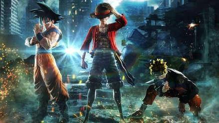 Inmensa estatua de Goku, Naruto y Luffy será incluida en la edición coleccionista de Jump Force