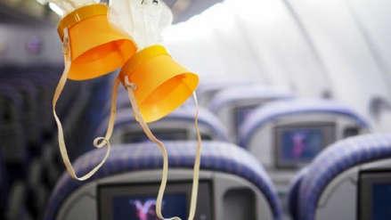 ¿Qué hacer si se despresuriza la cabina de un avión?