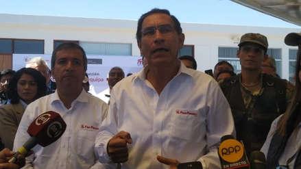 """Martín Vizcarra: """"No dudamos de la confianza dada por el Congreso"""""""