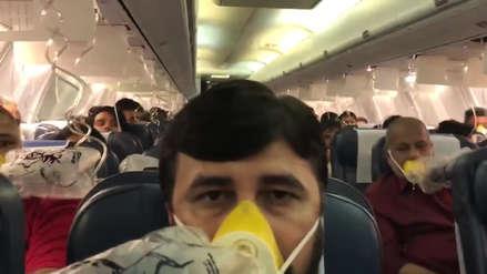 Decenas de pasajeros de un avión sangraron luego de que la tripulación se olvidó de presurizar la cabina