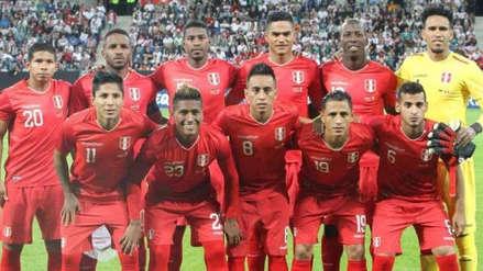 Perú cayó al puesto 21 del ranking mundial de la FIFA